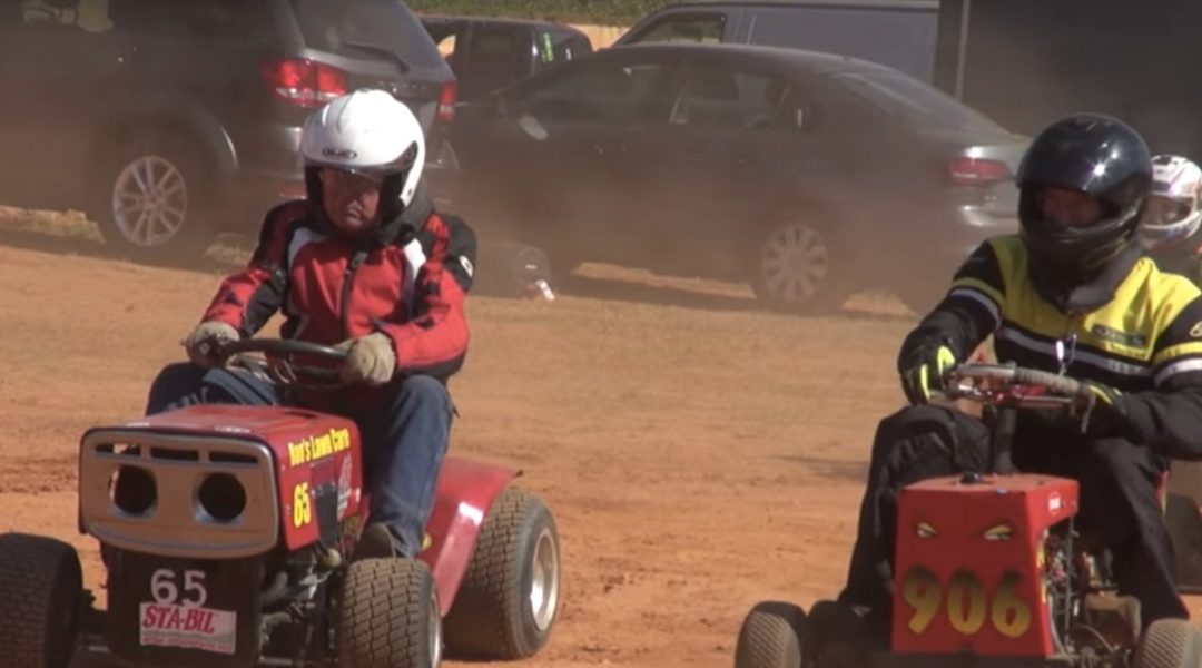 Subculture Video:  Lawn Mower Racing, By Nick Spinner