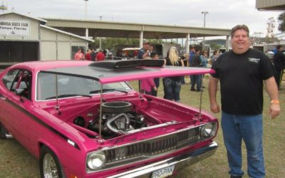 Tribute Mower and 1970 Duster Featured at Florida State Fair