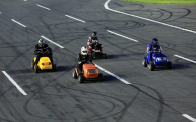North Carolina's First Family of Lawn Mower Racers Set For Food Lion Auto Fair At Charlotte Motor Speedway
