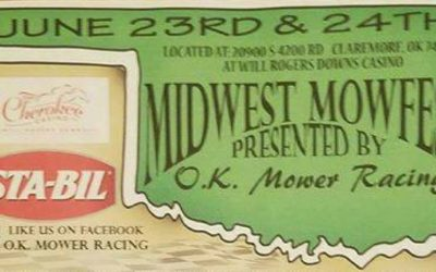 June 23-24, Midwest Mow Fest, Claremore, OK