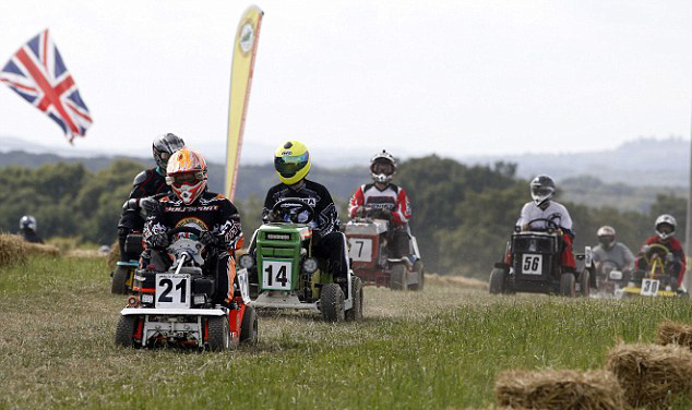 STA-BIL Celebrates 25th Anniversary With British Lawn Mower Racing Association