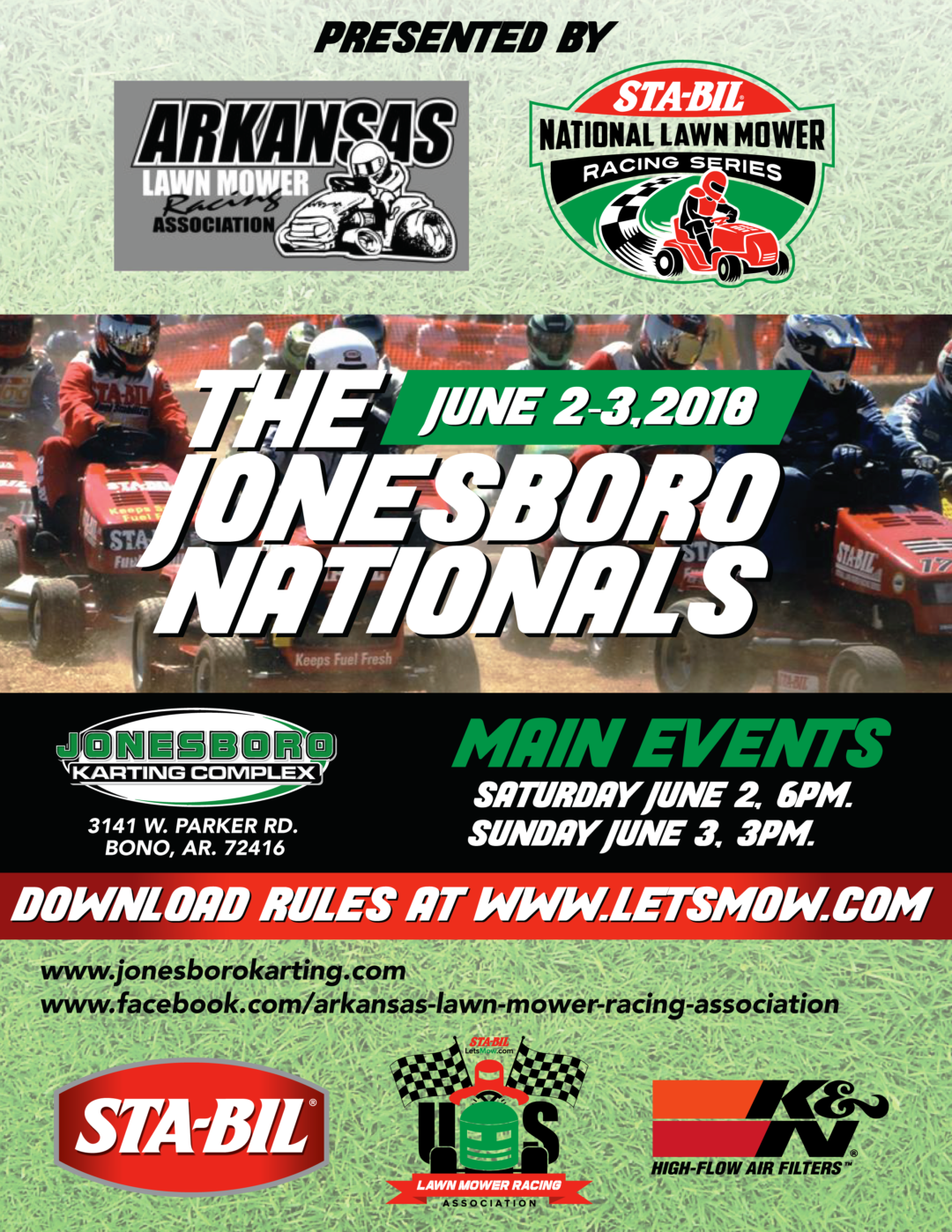 STA-BIL Series Returns to Jonesboro, AR, June 2-3